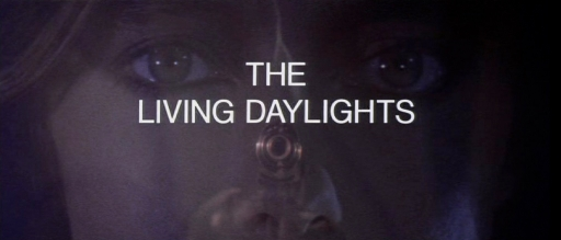 The Living Daylights title