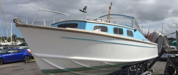Fairey Huntress 23 long cabin, hull 48, for sale